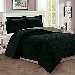 Majestic Stitch Reversible Quilt Set