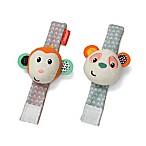 Infantino® Wrist Rattles™ in Panda/Monkey