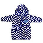 Neat Solutions® Hooded Fleece Bathrobe in Blue Whale