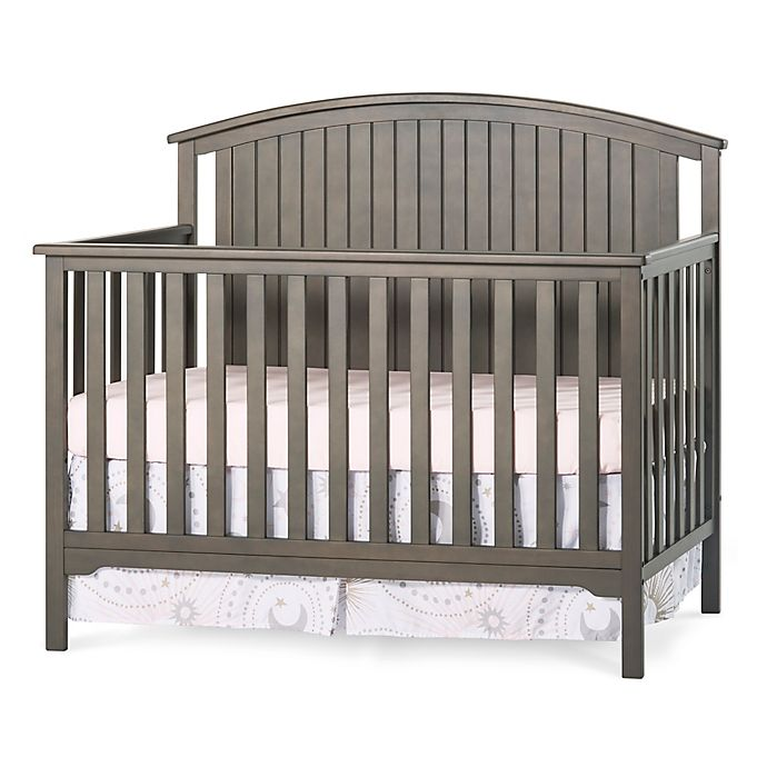 Alternate image 1 for Child Craft™ Forever Eclectic™ Cottage Curve Top 4-in-1 Convertible Crib