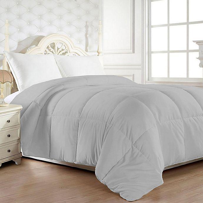 Alternate image 1 for Down Alternative Full/Queen Comforter in Grey