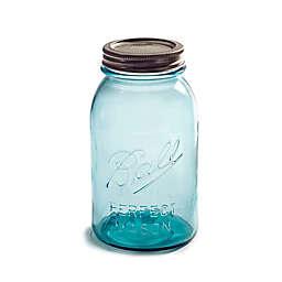 Ball® Collectors Edition Vintage Regular Mouth 32 oz. Mason Jars in Aqua (Set of 4)