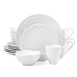 Lenox® Chelse Muse White™ 16-Piece Dinnerware Set