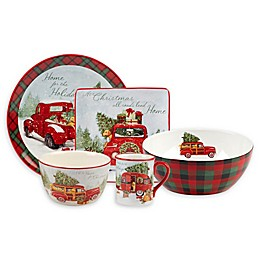 Certified International Home for Christmas by Susan Winget Dinnerware Collection