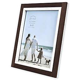 Prinz Shoreline 8-Inch x 10-Inch Picture Frame in Brown/White