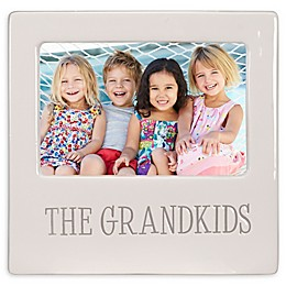 Malden® 4-Inch x 6-Inch The Grandkids Picture Frame in White
