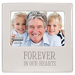 Malden® 4-Inch x 6-Inch Forever In Our Hearts Picture Frame in White