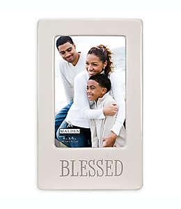 """Portarretratos Malden® con frase """"Blessed"""" en blanco"""