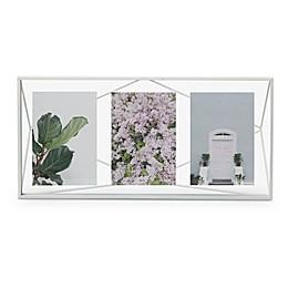 Umbra Prisma 3-Photo Frame in White