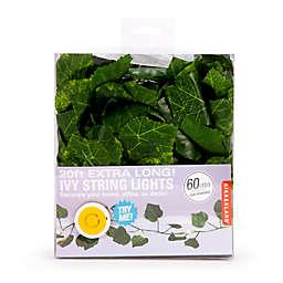 Kikkerland Design 20ft Ivy String Lights (60-Light in Green)