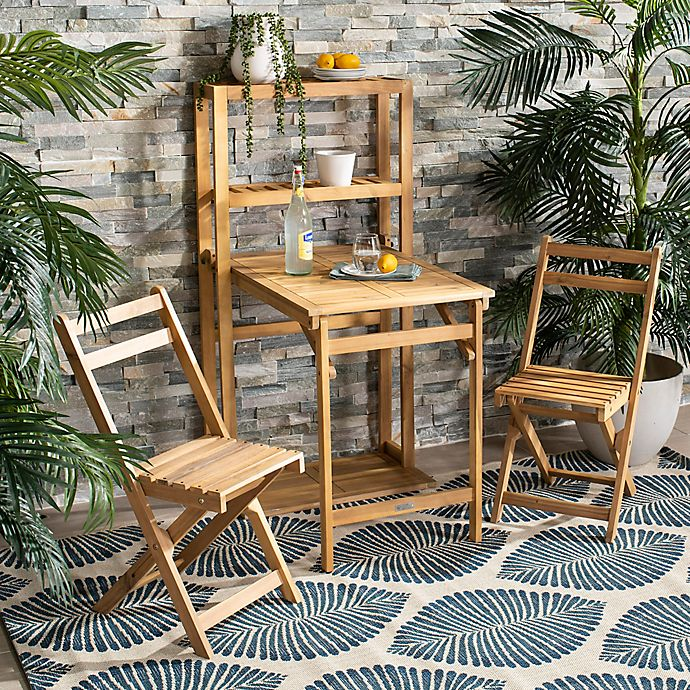 Alternate image 1 for Safavieh Griffen 3-Piece Balcony Dining Cabinet Set