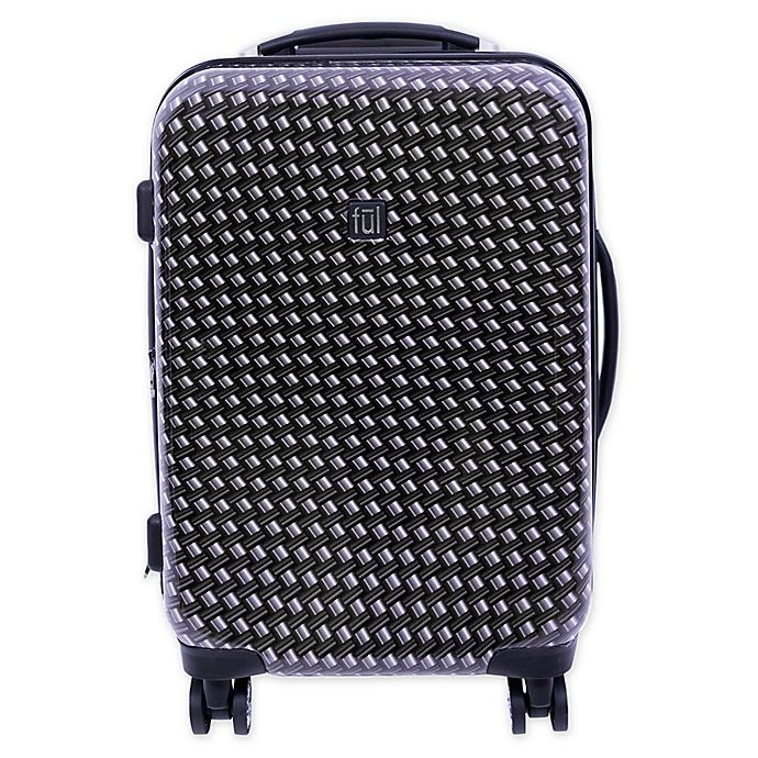 Alternate image 1 for ful® Metal Chain 20-Inch Hardside Spinner Carry On Luggage in Black