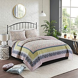 Madison Park Piper 3-Piece Reversible Coverlet Set