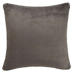 UGG® Polar Square Throw Pillow in Charcoal