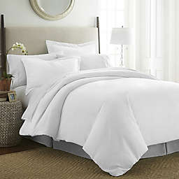 Pointehaven 525-Thread-Count Full/Queen Duvet Cover Set in White