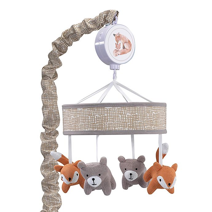 Alternate image 1 for Lambs & Ivy® Painted Forest Musical Mobile in Beige/Grey