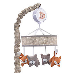 Lambs & Ivy® Painted Forest Musical Mobile in Beige/Grey
