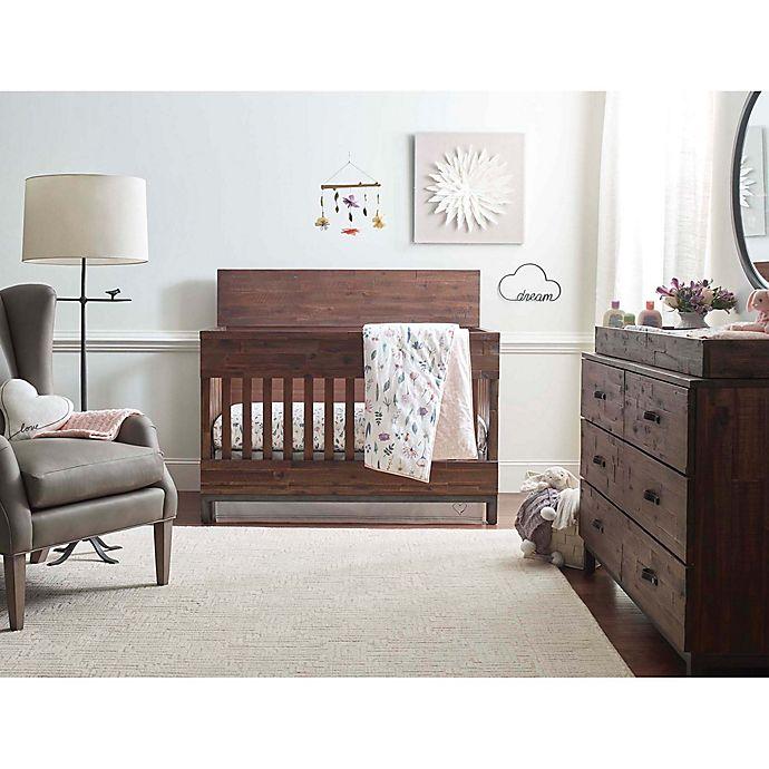 Alternate image 1 for ED Ellen DeGeneres Painterly Floral Crib Bedding Collection