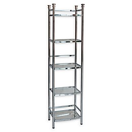 ORG 5-Tier Bathroom Shelf Tower