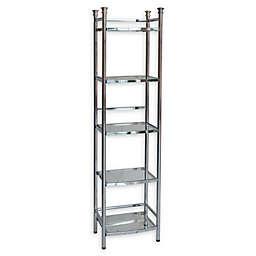 .ORG 5-Tier Bathroom Shelf Tower