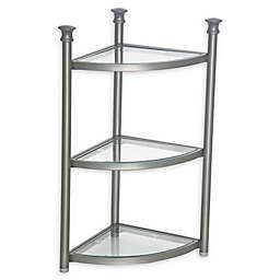 .ORG 3-Tier Bathroom Corner Shelf Tower