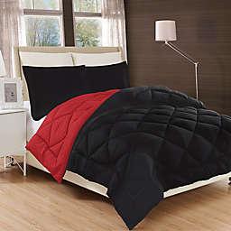 All Season Luxury Diamond Box Reversible Comforter Set