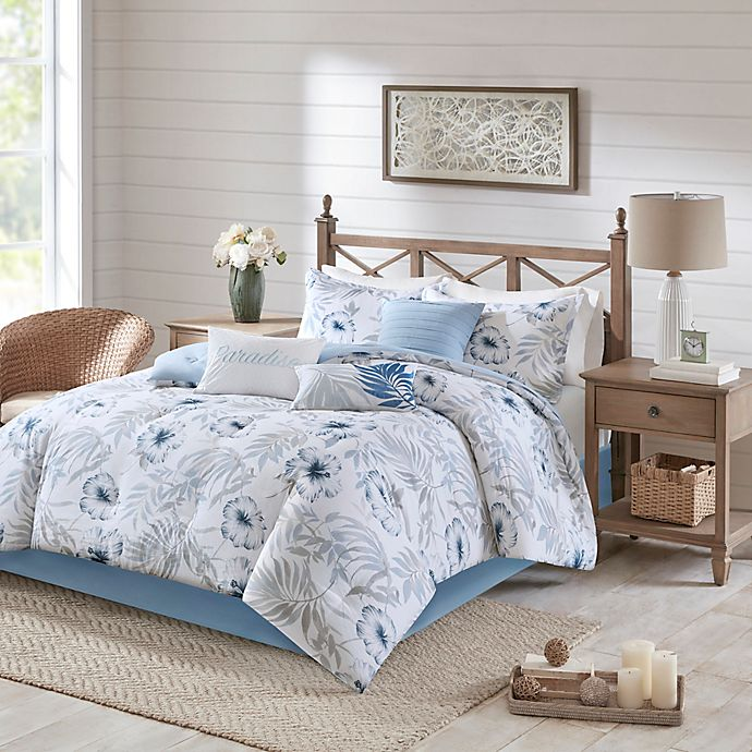 Alternate image 1 for Madison Park Milo 7-Piece Reversible Comforter Set