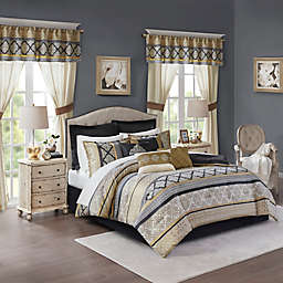 comforter sets with matching curtains | Bed Bath & Beyond