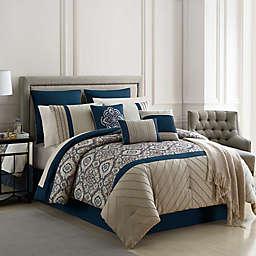 Warrenton Embroidered 14-Piece Comforter Set