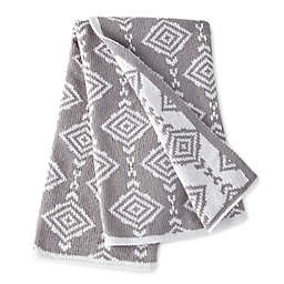 Levtex Baby® Heritage Geometric Chenille Blanket in Grey