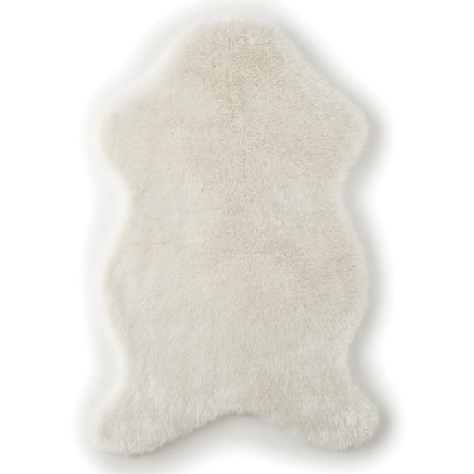 Alternate image 1 for Levtex Baby® Heritage Faux Fur Throw in Cream
