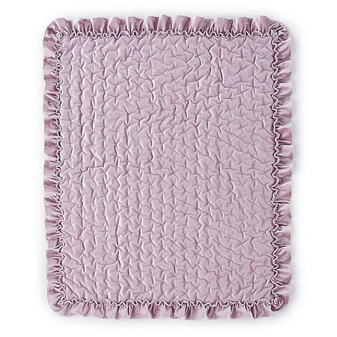 Alternate image 1 for Levtex Baby® Heritage Velvet Quilt in Lilac