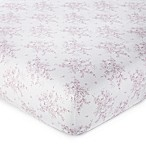 Levtex Baby® Heritage Floral Fitted Crib Sheet in Lilac
