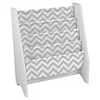 KidKraft® Patterned Sling Bookshelf in Grey/White