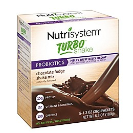 Nutrisystem® 5-Count Turbo Shakes in Chocolate