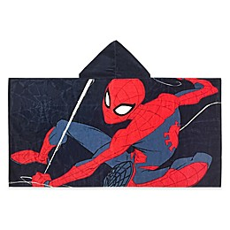 Marvel® Spiderman Web Headed Hooded Towel