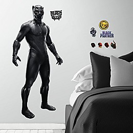 Marvel® 18-Piece Black Panther Vinyl Wall Decal Set