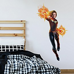 Marvel® Giant Captain Marvel Vinyl Wall Decal