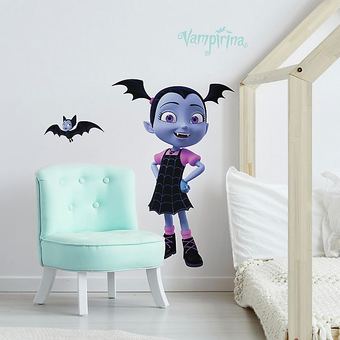 Alternate image 1 for Disney® Vampirina 5-Piece Vinyl Wall Decal Set