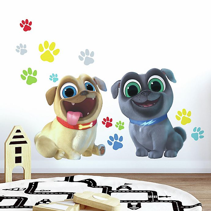 Alternate image 1 for RoomMates® Giant Puppy Dog Pals 13-Piece Vinyl Wall Decal Set