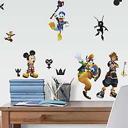 RoomMates® Kingdom Hearts 20-Piece Vinyl Wall Decal Set