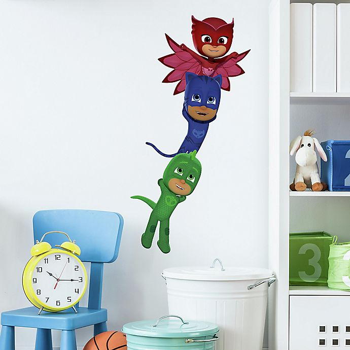 Alternate image 1 for RoomMates® Superheroes 6-Piece Vinyl Wall Decal Set
