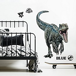 RoomMates® Jurassic World 2 Blue 10-Piece Vinyl Wall Decal Set