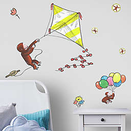 RoomMates® Curious George Flys a Kite 8-Piece Vinyl Wall Decal Set