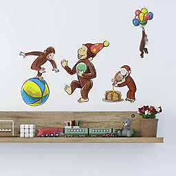 RoomMates® Curious George 22-Piece Vinyl Wall Decal Set
