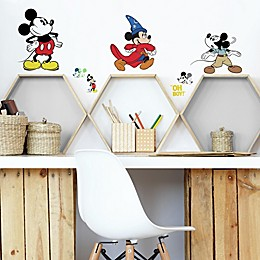 Disney® Mickey Mouse 90th Anniversary 14-Piece Vinyl Wall Decal Set