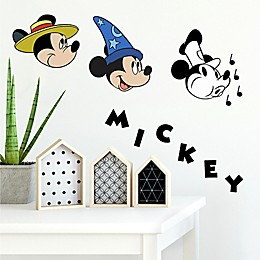 Disney® Mickey Mouse 90th Anniversary 20-Piece Vinyl Wall Decal Set