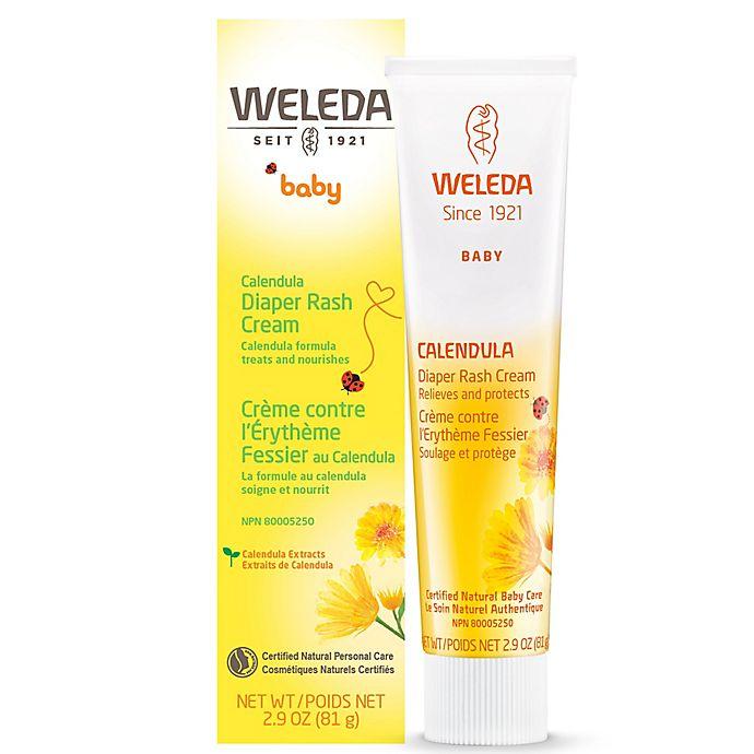 Alternate image 1 for Weleda 2.9 fl. oz. Calendula Baby Diaper Rash Cream