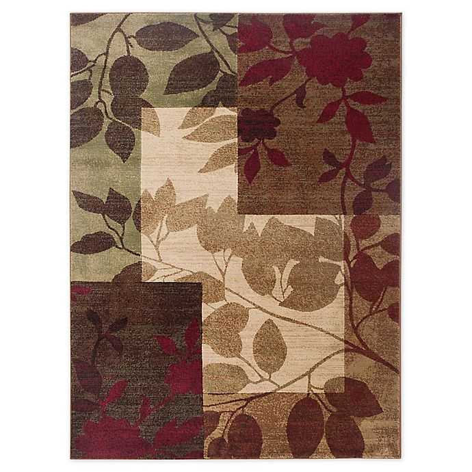 Alternate image 1 for Tribeca Heat Set Floral 5-Foot 3-Inch x 7-Foot 2-Inch Area Rug in Multi