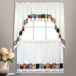 Appleton Window Curtain Tier Pair and Valance